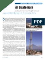 Geothermal Tecuanburro