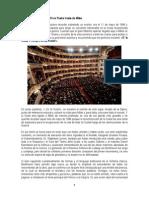 Discurso de Benedicto XVI en Teatro Scala de Milán
