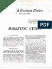 Levitt1960 Marketing Myopia