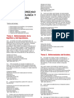 Preguntas y respuestas - Endocrinología y nutrición