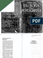 VILÉM FLUSSER Hacia Una Filosofía de La Fotografía
