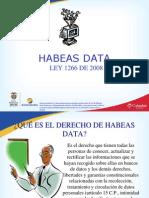 1292 Presentación Habeas Data