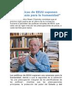 Noam Chomsky Politica Usa