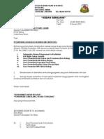 Surat Lampiran Lantikan Ketua KK