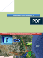 Inviabilidad para el proyecto Monterrey VI