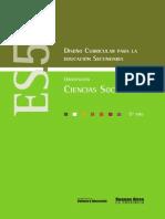 Diseño Curricular Educ Sec 5º Año - Orientacion Ciencias Sociales