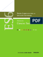 Diseño Curricular Educ Sec 6º Año - Orientacion Ciencias Sociales