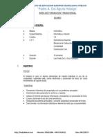 Silaboi 2014_ Informatica e Internet