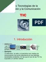 Nuevas TIC (Presentación PowerPoint)