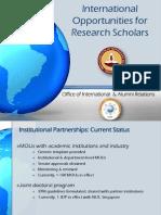 Res Scholar Presentation