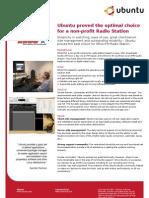 Ubuntu Proved the Optimal Choice for a Non-profit Radio Station