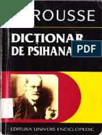 Larousse - Psihanaliza