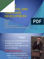 t4 Cognitive and Language Development