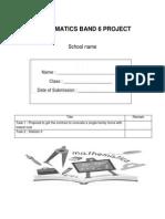 Mathematics Project Form 3