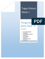 Pengantar Basis Data Week 1