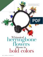 BdJc B B Herringbone Flowers