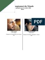 Bulletin Topalov-Kramnik 2006