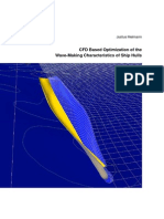 Heimann_justus CFD Based Optimization of the Wave-making Characteristics of Ship Hulls