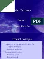 Keegan11 Product Decisions