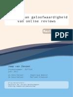 Masterscriptie Jaap Van Zessen
