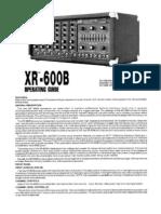 Peavey Xr-600b Mixer Amp
