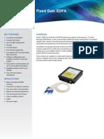 Fixed Gain EDFA Product Brief 07 2013 V1