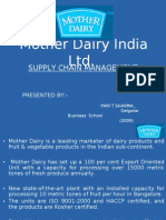 Mother Dairy Supply Chain 2009