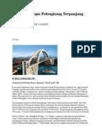 Jembatan Lupu Pelengkung Terpanjang