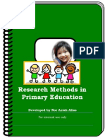 Research Methods for Primary Education