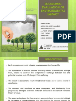 3.9.14- Economic Evaluation of Environmental Impact