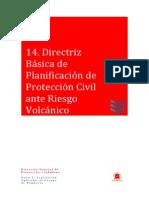 14 Directriz Básica de Protección Civil Ante Riesgo Volcánico
