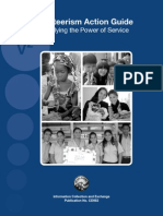2009 Peace Corps Volunteerism Action Guide Multiplying the Power of Service