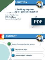 Sample Slide for Bachelor Thesis Presentation