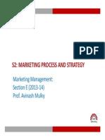 Marketing S 2 Marketing Strategy I