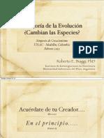 Biaggi La Teoría de La Evolución