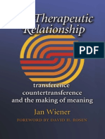 Therapeutic Relationship Transference Weiner