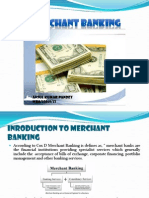 Introductionand Role of Merchant Banks Anshul Pandey