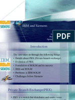 Ibm & Siemens over ROLM telecom