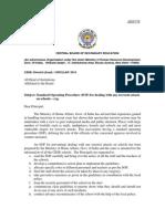 CBSE School Safety Guidelines Against Terrorist Attacks