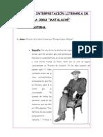 "ANÁLISIS E INTERPRETACIÓN LITERARIA DE LA OBRA ""MATALACHÉ"""