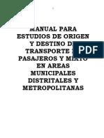 Manual Transport e Urbano