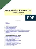 Fersman Geoquimica Recreativa Espanhol