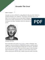 Alexander the Great - Short Bio - Social Studies