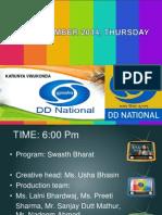DD National on 19th September 2014