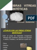 FIBRAS VITREAS SINTÉTICAS