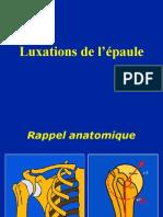03- Epaule Luxations