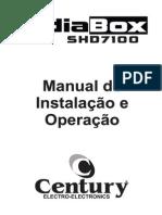 Manual Midiabox Shd7100n