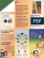 Leaflet - Vitamin A