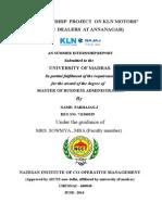 An Internship Project on Kln Motors - Copy