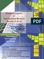 IB-Financial Aspect - Session 15-16